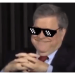 Bill Barr Thug Life Meme