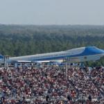 DJT AF1 NASCAR Photograph
