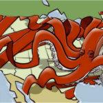 Political Cartoon Eric Allie Bureauctopus