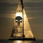 Qanon Great Awakening Punisher Sailboat 777 WG1WGA Meme